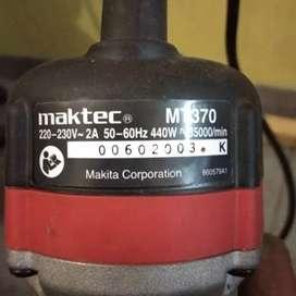 Mesin trimmer router mt 370 mactek belas