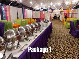 Wedding Decoration / Catering Packages