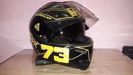 Helm NHK Terminator Full Face (body cover sendiri) Murah..!