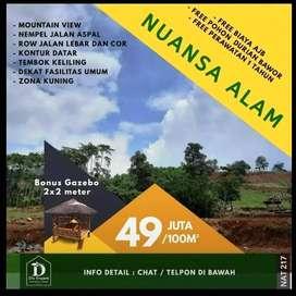 Tanah Murah Jonggol Bogor Cocok Untuk Investasi dan Rekreasi | C4