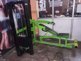 Gym equipment available