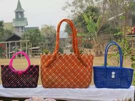 Plastic basket beg