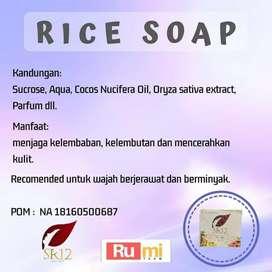 Rice Soap (sabun beras) SR12