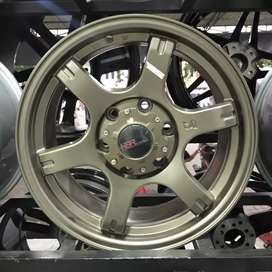Velg Mobil Ring 17 HSR Tokyo Tendo Untuk Pajero Fortuner Dll