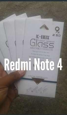 Tempered Glass Redmi Note 4