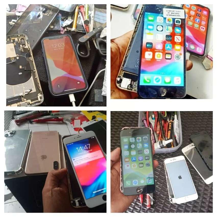 Lcd iphone 6 pemasangan bisa kerumah anda bos