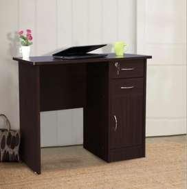 Simo Study Table in Walnut Colour