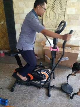 Sepeda statis orbitrek 6in1 free ongkir dan perakitan ( central sport)