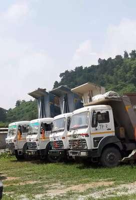Hyva tipper drivers job in jhasuguda odisha (parmanent work)