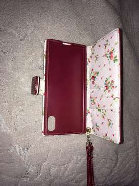 Mobile leather Pouch and purse for ladies