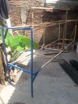 Jual kandang umbaran murai batu 3meter Rp.150rb di Enggal B lampung