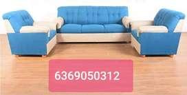Branded new Italian type fabric sofa 3+1+1