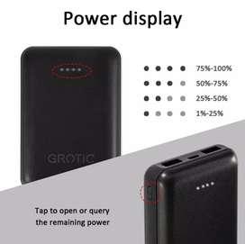 Powerbank Grotic 8000mah garansi 1 th