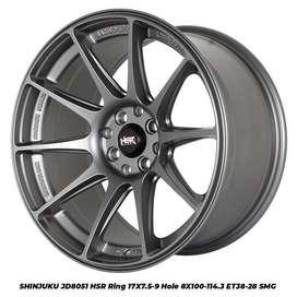 SHINJUKU JD8051 HSR R17X75/9 H8X100-114,3 ET38/28 SMG
