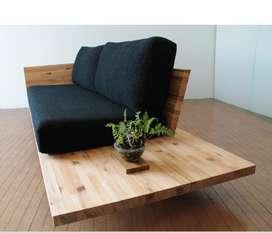 Sofa kayu kekinian