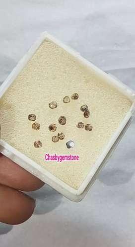 Natural Berlian Banjar-Batu Intan Berlian Banjar Crytal luster tumpah