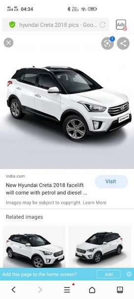 Hyundai Creta Available On Monthly Rental