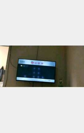 condet service tv led lcd smart panggilan
