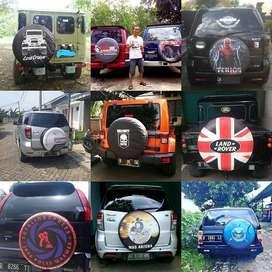 Cover/Sarung Ban Serep Toyota Rush/Terios/Panther Sendiri MeriahJoss U