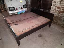 New Durable Double Bed without Box 6×6feet
