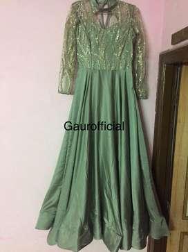 Designer gown. Coctail wear