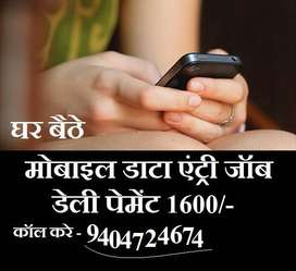 Mobile data entry job at home online jobs from home without investment