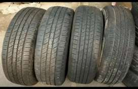 SECOND HAND USED  TYRES FOR ALL CARS AND BIKES AVAILABLE.