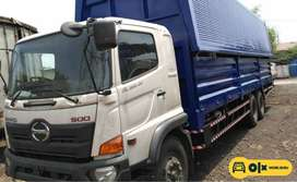 [Mobil Baru] Hino Ranger FL235JW Truck Chassis Super Panjang