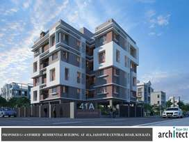 Flats for Sale in New Building on Jadavpur Central Road
