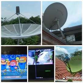 Teknisi pasang parabola mini besar gratis servis area astana anyar