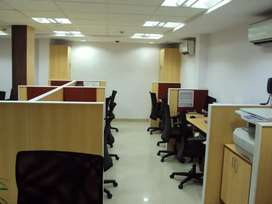 Fully furnished office space available in tegharia on road,