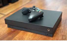 Xbox one x with 7 month warranty remain.