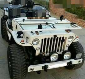 Open and modified jeep