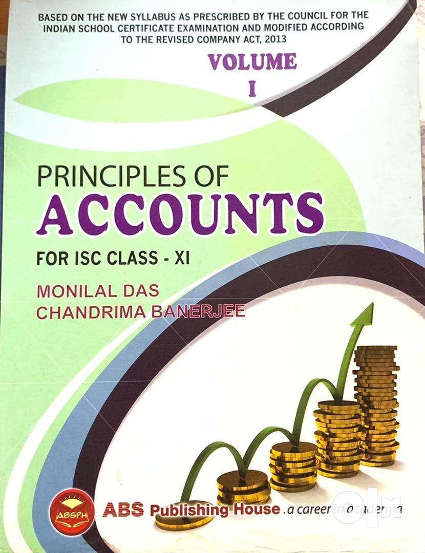 PRINCIPLES OF ACCOUNTS Class 11