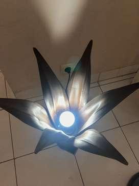 Hiasan Lampu dari Pelepah Kelapa dari Yogyakarta