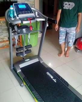 Alat fitnes/treadmill original bisa COD