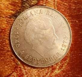 Juliana Regina 1973 Sliver coin