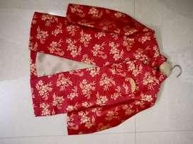 Kurta pajama with fashionable jacket