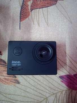 Inca 1080p wifi action camera