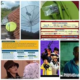Jago pasang parabola cctv servis area pasarwajo buton