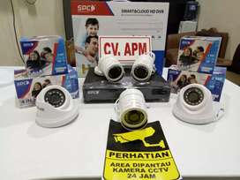paket MURAH kamera cctv SPC 4KAMERA-4CH-LENSA 2MP 1080P@KARAWANG KAB.