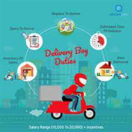 delivery boy in ahemdabad