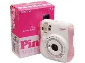 Camera Fujifilm instax mini 25s polaroid pink!FREE BATERAI CR2&FILM