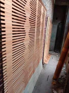 Tirai isi,kulit bambu,lampit