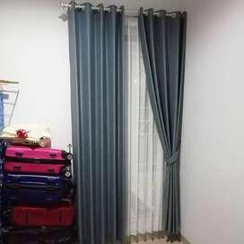 Melayani Pemasangan Gorden Rumah Kantor Apartemen Hordeng KordenMelaya