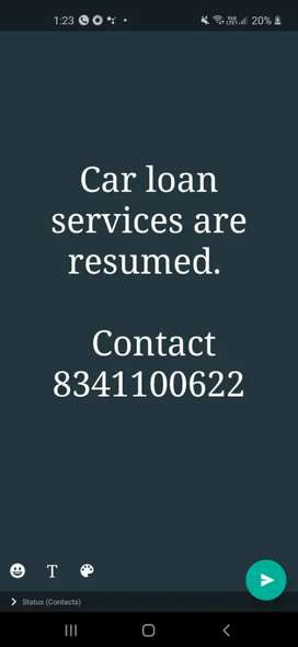 We approve Loan for cars(all cars).