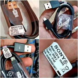 Sony UCB-16 Genuine Micro Cable and Type C Cable Available
