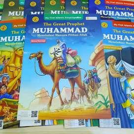 Buku Ensiklopedia NABI MUHAMMAD SAW Soft Cover 12 Buku