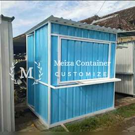 CONTAINER Uk 150 x 100 x 200 JUAL BOOTH SEMI CONTAINER Murah#*1
