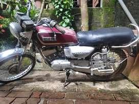 Legendary bike Yahama Rx100